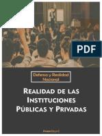 Realidad de Las Instituciones Públicas y Privadas