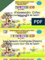 Diploma Amarillo Con Nenes [UtilPractico.com]