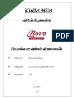 Monografía de Pan Coliza, Examen