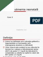 Hiperbilirubinemie neonatala