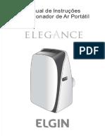 Ar Condicionado Portatil Elgin Elegance