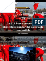 Erick Malpica Flores - La FIA Busca Proveedor de Elementos Estándar Del Sistema de Combustible