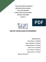 Nuevas Tecnologías en Ingeniería