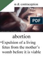 Abortion & Contraception