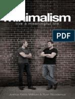 Minimalism_ Live a Meaningful Life by Joshua Millburn