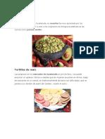 Gastronomia Maya y Ladina