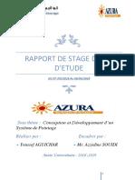 Rapport de Stage de Fin d