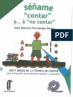 Enseñame a Contar y... a No Contar - Jose Antonio Fernandez Bravo