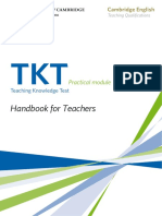 Practical Handbook for Taking Tkt