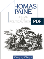 21811257 Thomas Paine Social and Political Thought