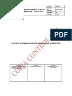 I-sa-04 Control Microbiologico de Ambientes y Superficies v1