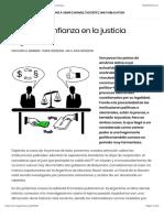 Crisis de Confianza en La Justicia Argentina - Darío Barriera