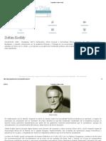 Biografia de Zoltán Kodály