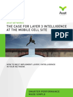 The Case for Layer 3 Intelligence at the Mobile Cell Site - March 2015