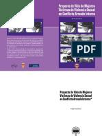 Proyecto de Vida de Mujeres  Víctimas de Violencia Sexual  en Conflicto Armado Interno
