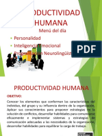 Comportamiento Organizacional e Individual
