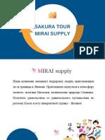 Sakura Tour 2020