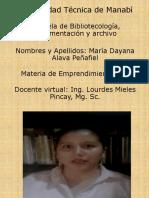 Foro de Presentacion_dayana Alava Peñafiel_emprendimiento