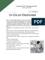 Un Dia Sin Electricidad