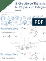 Aplicação e Acionamentos de Máquinas - 12. Modelo Transformador Da Máquina de Indução