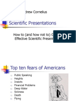 03 Scientific Presentations