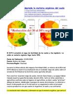 2019-05-23 Arg El Modelo Rural Depreda La Materia Orgánica Del Suelo