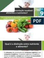 Dt9 O Que é Uma Alimentação Saudável - Alimentos e Nutrientes