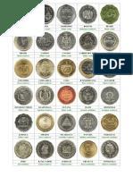 Monedas de Centroamerica
