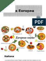 Cocina Europea