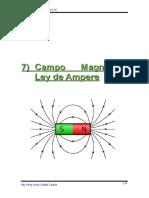 Capítulo 7---Campo Magnético . Ley de Ampere