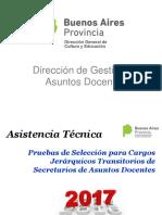 Asistencia Tecnica 2017 La Plata
