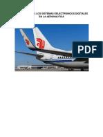 La Importancia Los Sistemas Eelectronicos Digitales en La Aeronautica