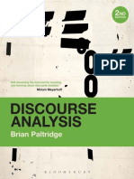 (Continuum Discourse Series) Paltridge, Brian-Discourse Analysis _ an Introduction-Continuum (2012)
