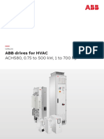 ACH580 Drives for HVAC Catalog 3AUA0000186691 RevE