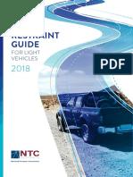 Load Restraint Guide for Light Vehicles 2018
