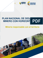 Plan Nacional de Desarrollo Minero Pndm_dic2017
