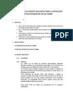 Aplicación y Uso de Agentes Quelantes Para La Extraccion de Metales Pesados Del Rio de Tambo 2