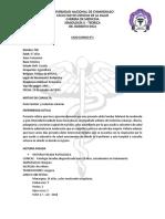 CASO CLINICO Hipotiroidismo