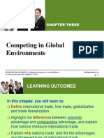 Chapter 3 - PPT Competing in Global Environments