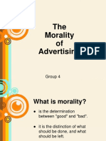 Morality of Advertising1