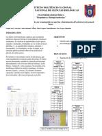 Bioquimica - Practica TLC de Fosfolipido