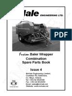 McHale Fusion Spare Parts Book