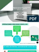 Regimen de Utilización de Servicios en La Ley Del Igv...