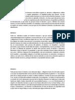 Articulos Constitucion Del 1 Al 29