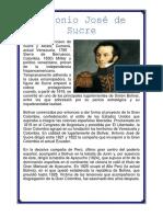 Antonio José de Sucre.docx