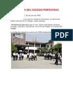 Historia Del Colegio Portoviejo