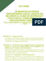 Curso Licencencias Ley 29566