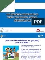 Los Recursos Hidricos en El Peru y en Nuestra Cuenca Moquegua-ilo