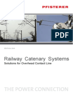 Catalogue PFISTERER Railway Catenary Systems 2016