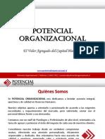 PRESENTACIÓN POTENCIAL ORGANIZACIONAL.ppsx